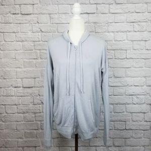Lululemon Wake Up & Go cashmere blend gray sweater